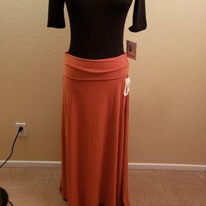 LuLaRoe Maxi skirt size m